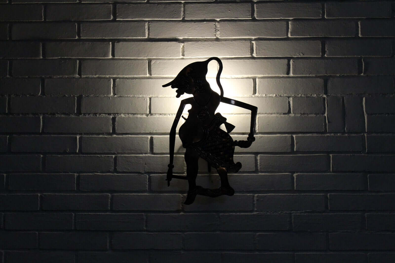 A shadow lamp.
