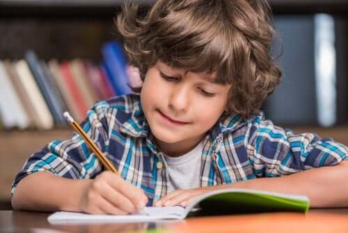 Learning to Write with the Montessori Method