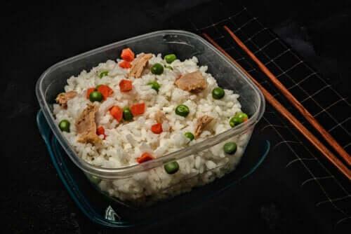Healthy rice.