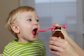 Medicine to children.
