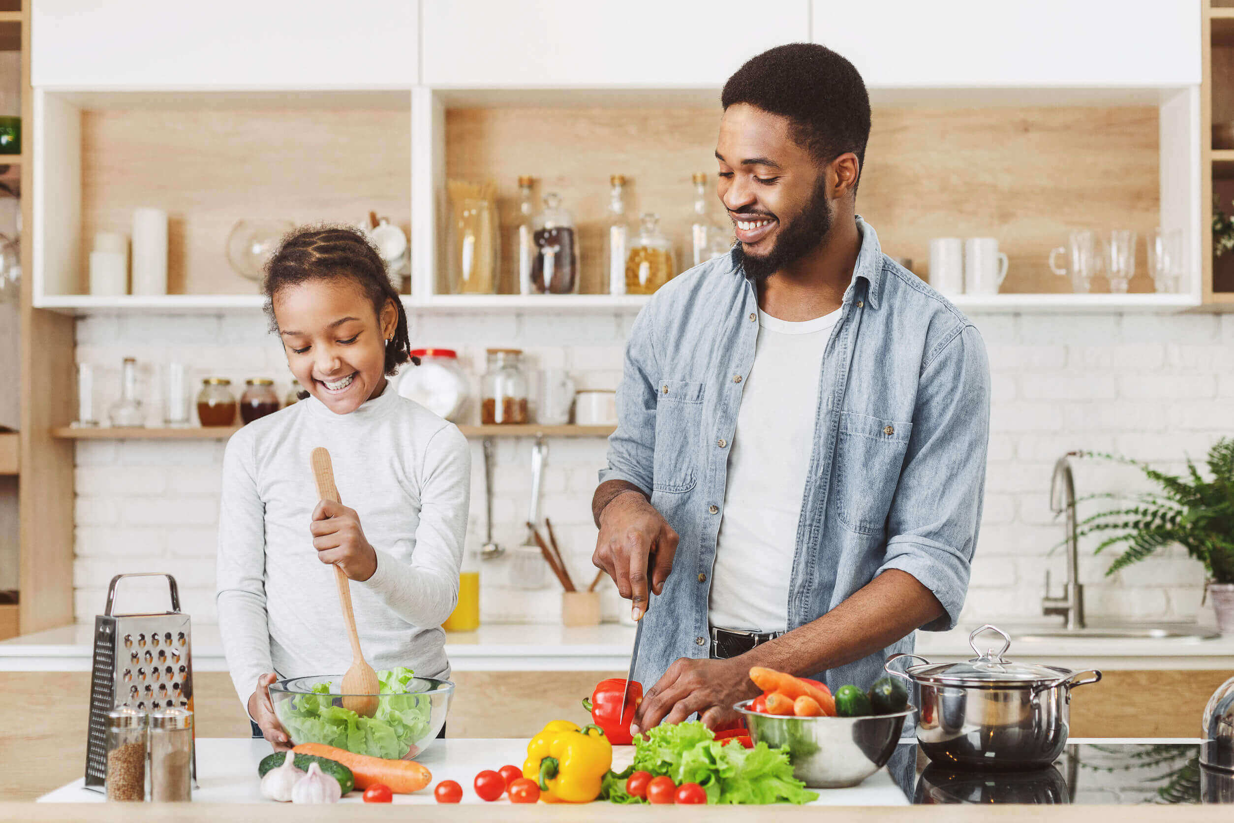 Benefits of Cooking with Kids