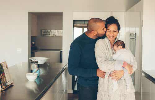 Oxytocinnivåer hos nyblivna föräldrar.