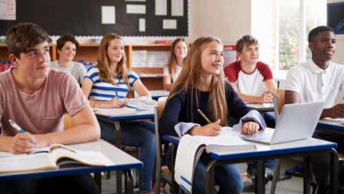 Uczniowie szkół średnich