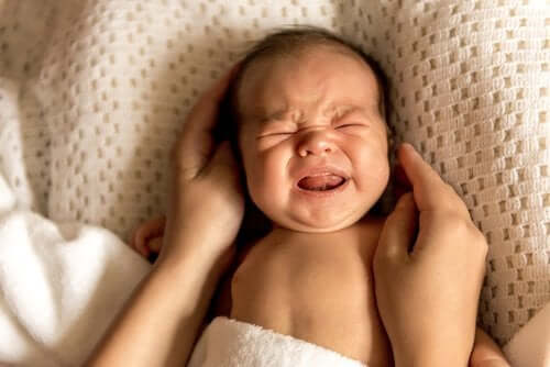 When a Baby Cries to Release Stress, It's Healthy