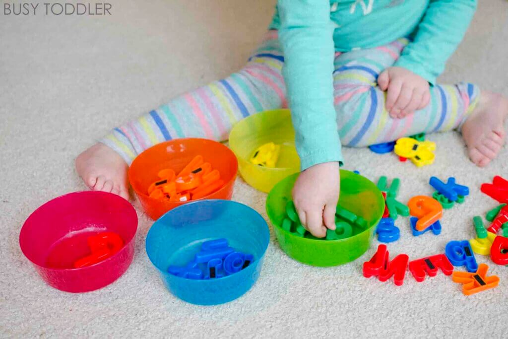 Montessori Games for Children from 0 to 3 Years Old