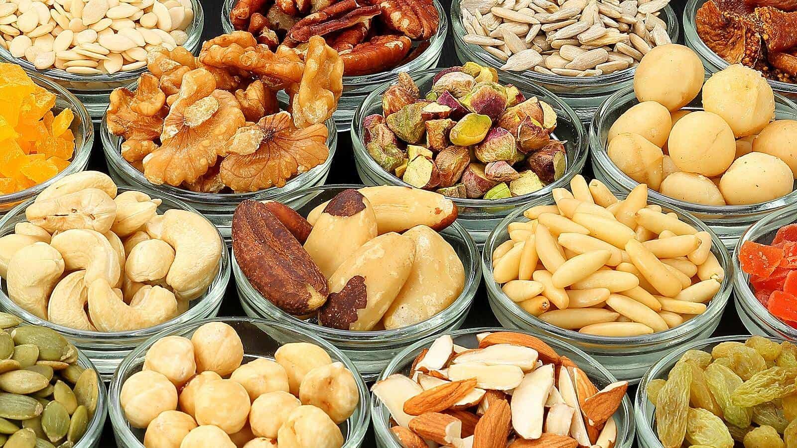 Nuts consumption.