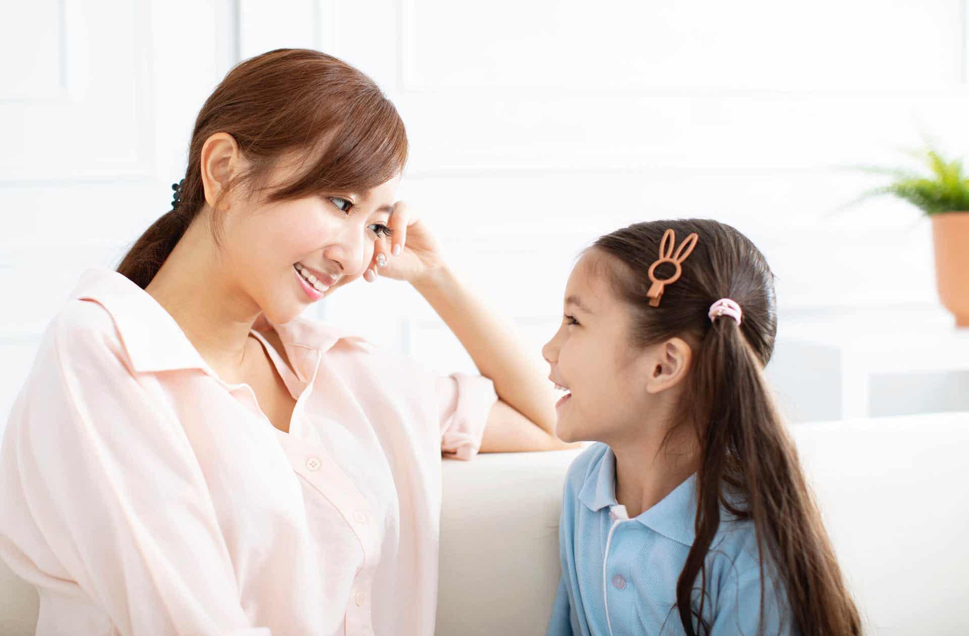 Het ontwikkelen van de geheugenvaardigheden van kinderen.