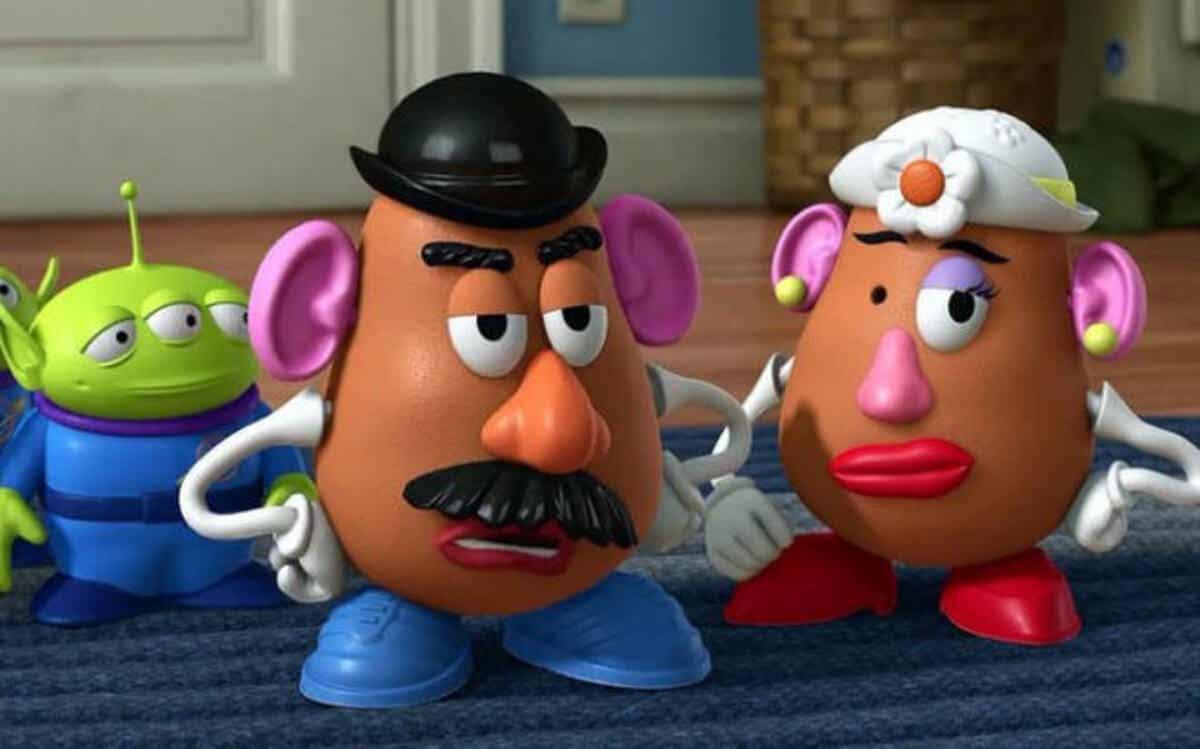 Mevrouw Aardappelhoofd.