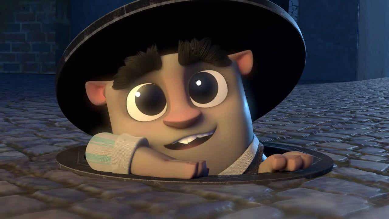 Afbeelding uit de korte film The Wishgranter.
