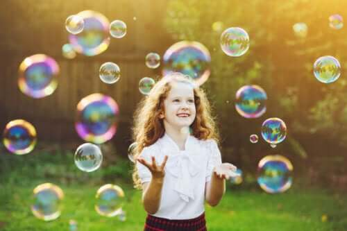 The Bubble Game to Promote Self-Control in Children
