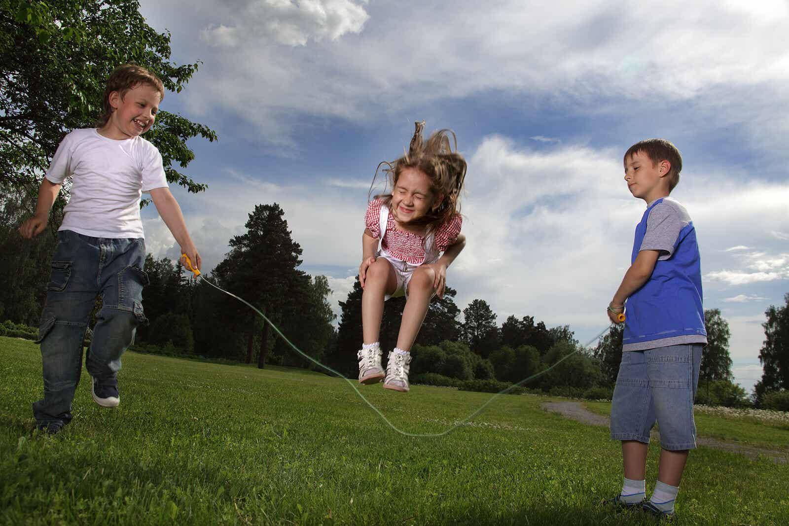 Aktiviteter for å utvikle barns sosiale ferdigheter.