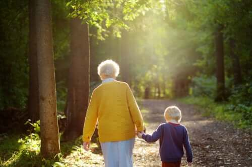 Grandmothers Are the Lights That Guide Their Grandchildren