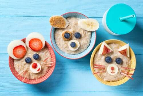 Oatmeal's a Good Choice for Babies and Children