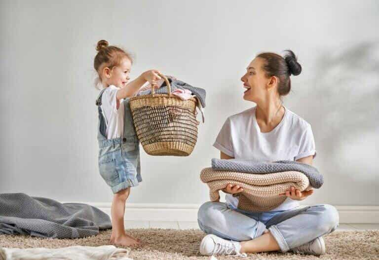Using the Chores Method to Get Your Children to Help Out