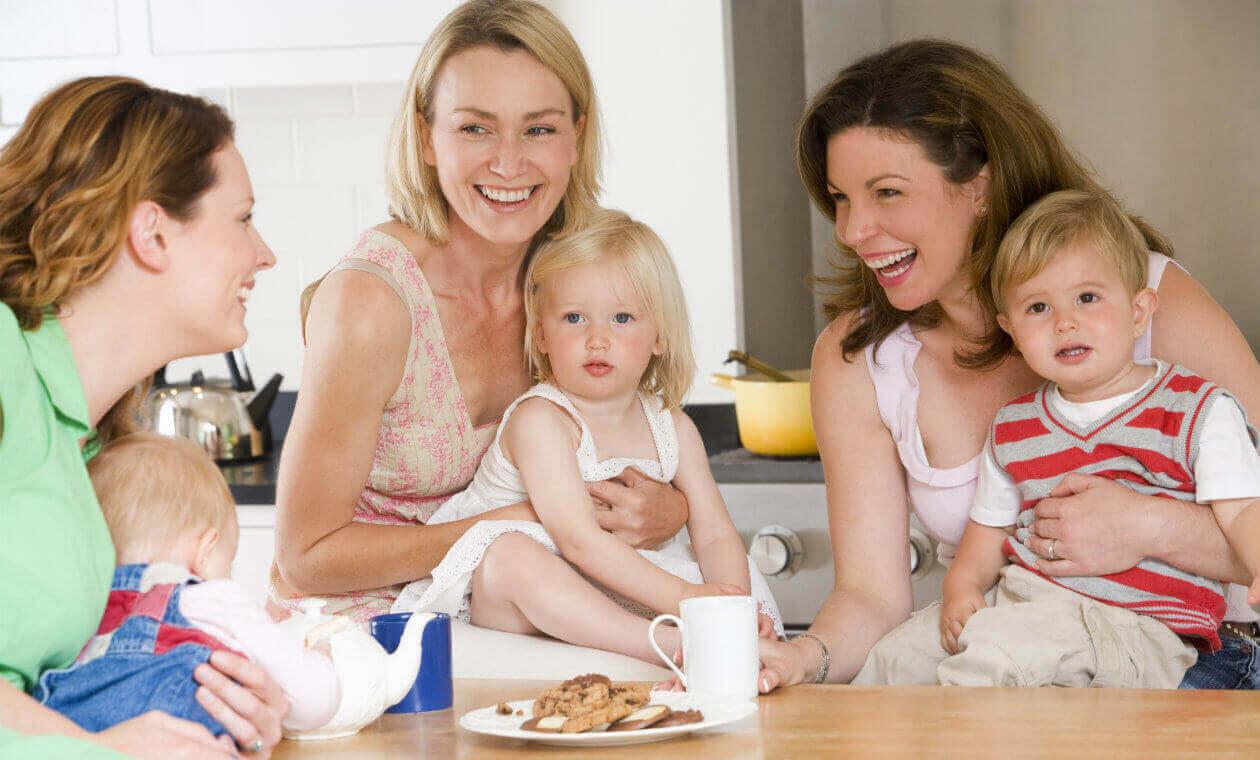 Mødregrupper er gode til stressede mødre